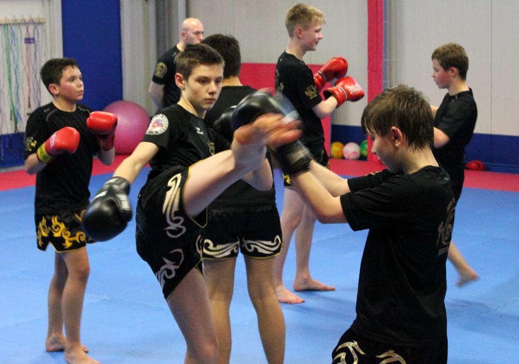Dresdner Jugend beim Kampfsport