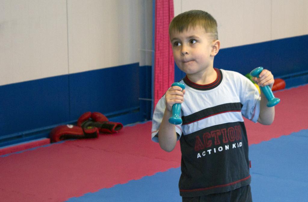 Altersgerechtes Training für Kinder ab 4 Jahre