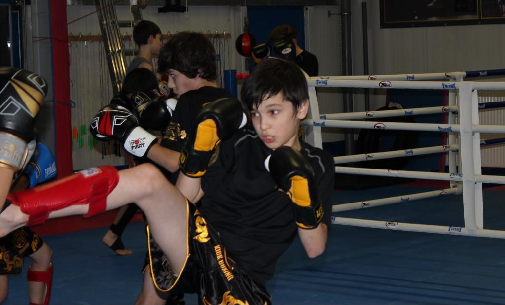 Training Thai Boxen für 10-14 Jährige