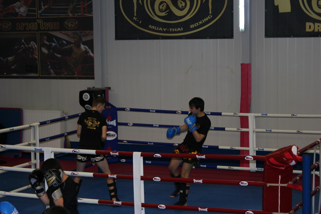 Sparring Thai Boxen Junior