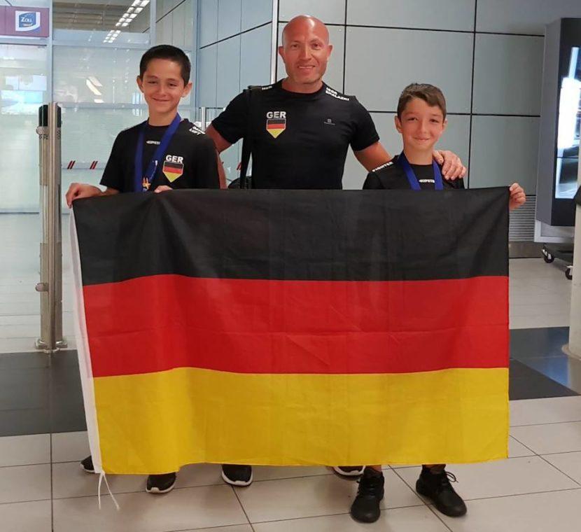 IFMA Jugend Vizeweltmeister 2017 - Melik Babayev und David Luft